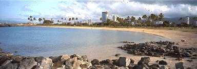 ala moana beach park southern shore oahu