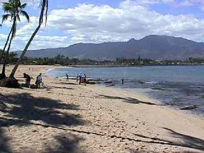 haleiwa beach park north shore oahu