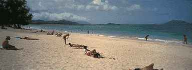 kailua beach park windward oahu